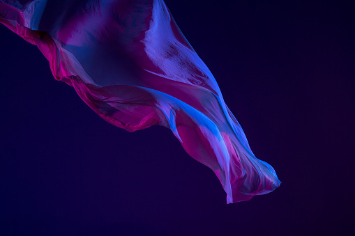 flying silk fabric