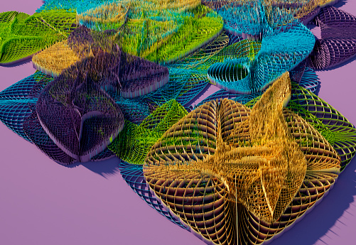 Abstract 3D Pattern