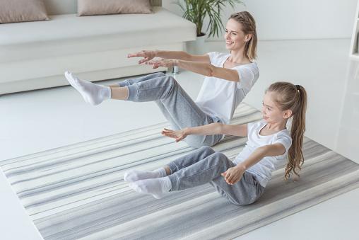 자녀와 함께하는 운동