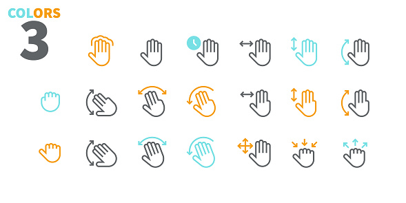 Minimal icons set