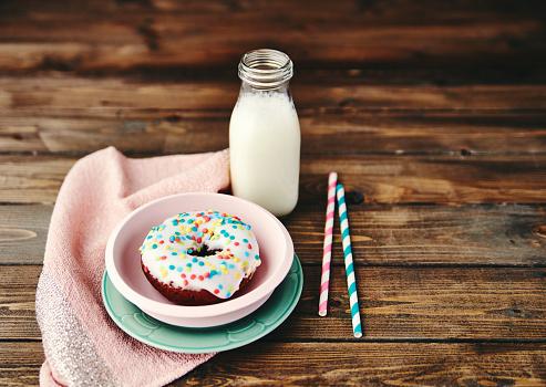 도넛 & 우유