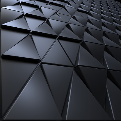 Polygonal triangles shape background
