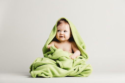 Baby a blanket