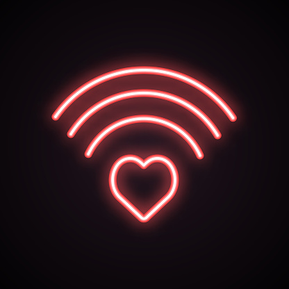 Neon sign icon