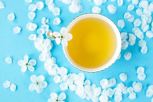 teacup & flower