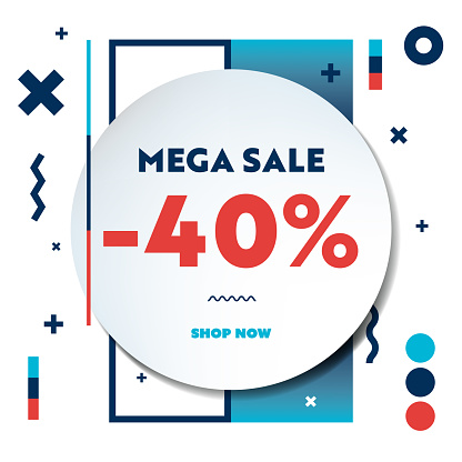 Sale Web Banner Template