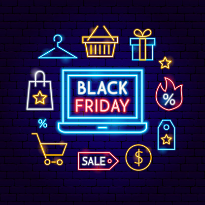 Black Friday neon