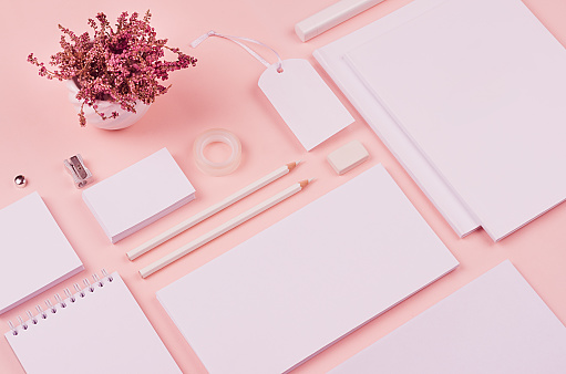soft pink elegance stylish