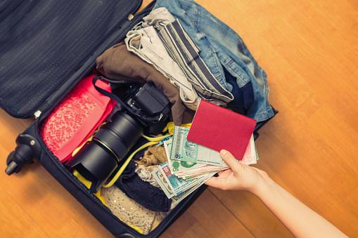 여행 짐 챙기기