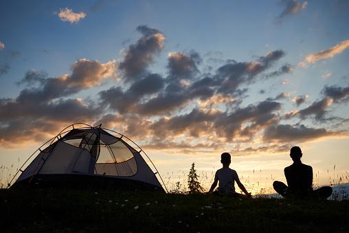 야외 캠핑, 운동