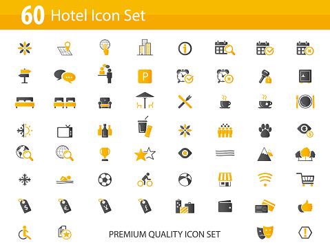 Set of 60 icon