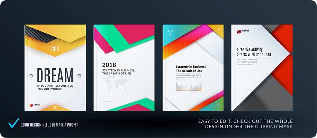 business brochure set