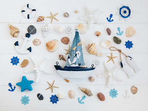 Sea decorations
