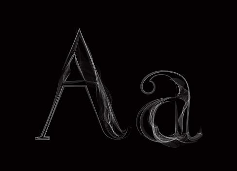 Smoke Typeface