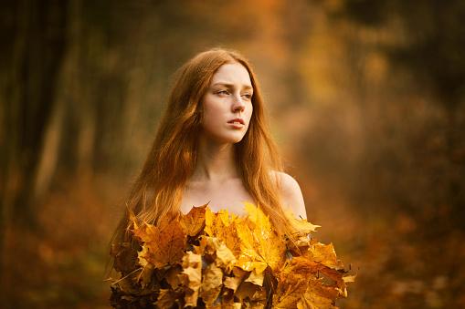 Fashion Autumn model