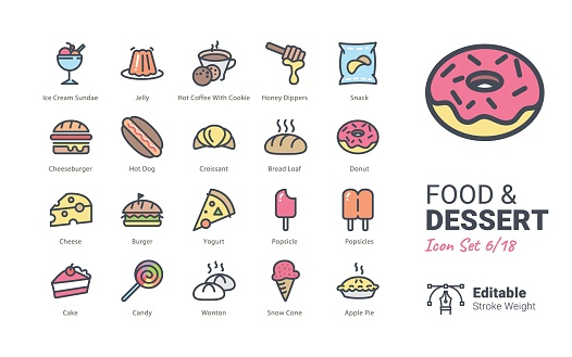 Icon set - Food