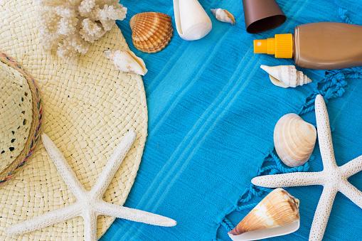 Summer Accessories Background