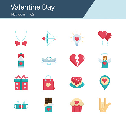 Icon set - valentine day