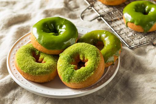 홈메이드 말차 도넛