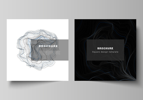 Minimal templates for brochure