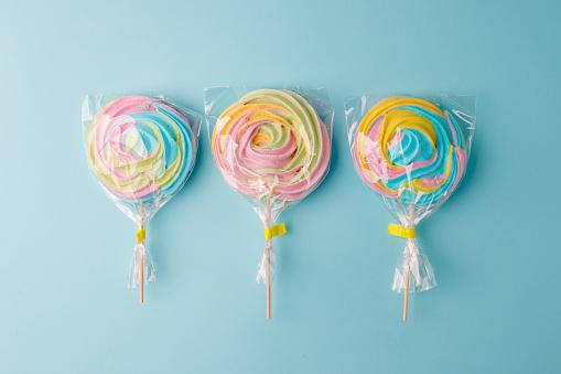 Lollipops candy