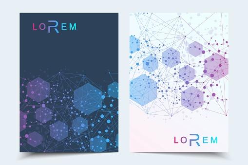 Scientific pattern brochure