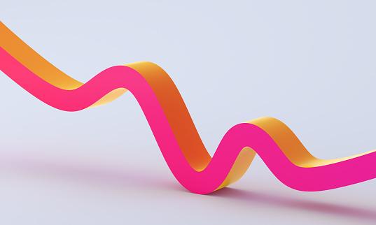 3D 주식 그래프