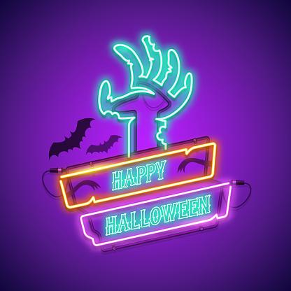 Halloween Neon Sign