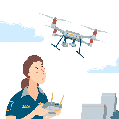 Operating a flying drone