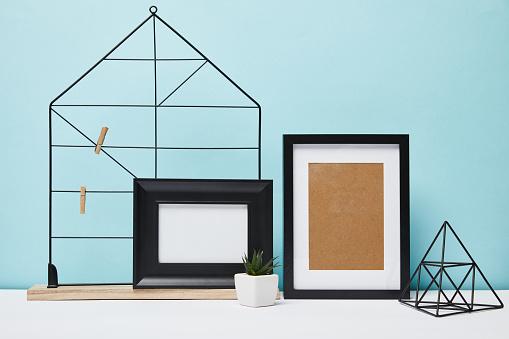 Decorative frame mock-up