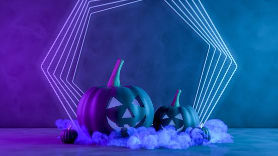 3D Pumpkins for halloween