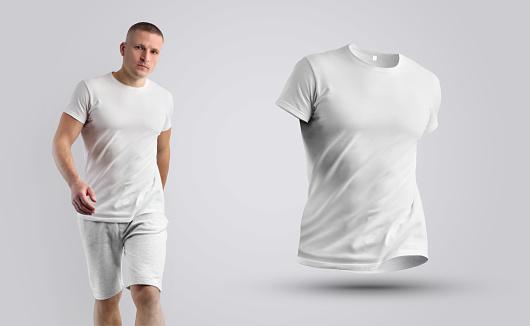 Mockup male t-shirt