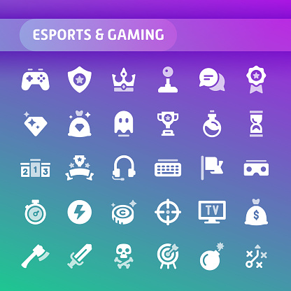 Solid icon set