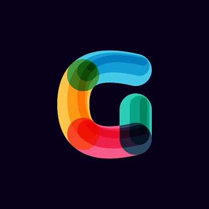Letter vivid logo
