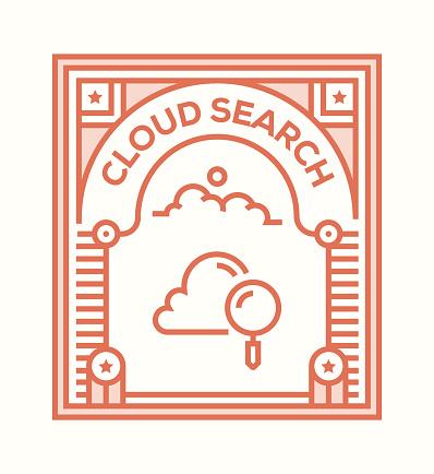 Cloud icon concept