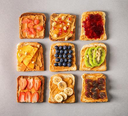 Delicious toasts