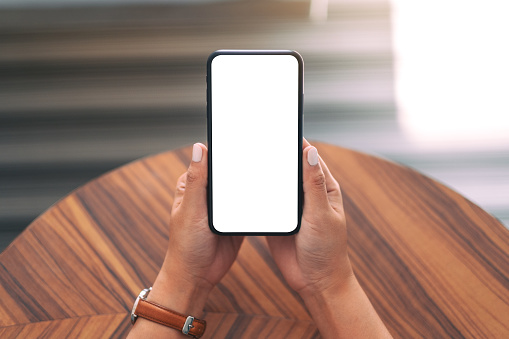 Mockup image of digital device