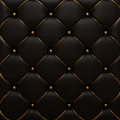 Leather texture of the quilted skin
