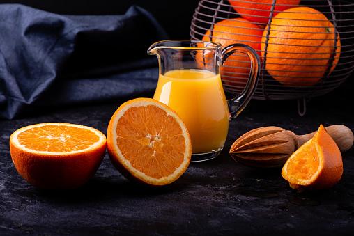 Freshly orange
