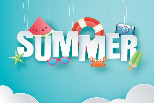 Summer web banner