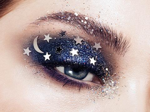 Decorative make up Eyes and Lips