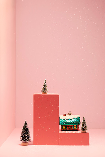 Christmas House Bauble