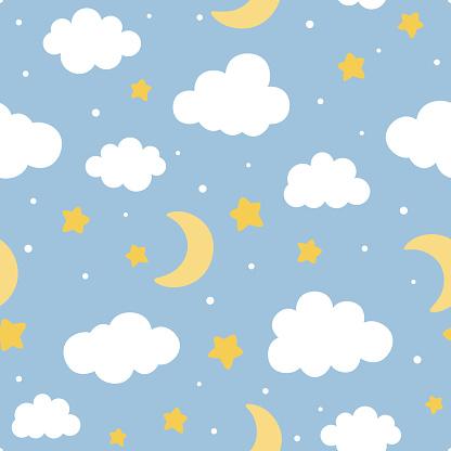 하늘하늘 패턴