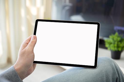 Computer tablet mock-up