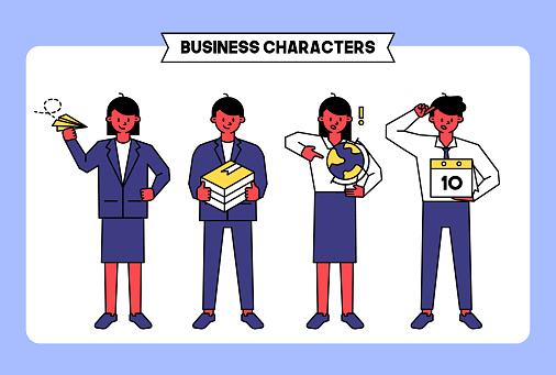 Business characters