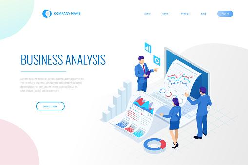 Isometric web template