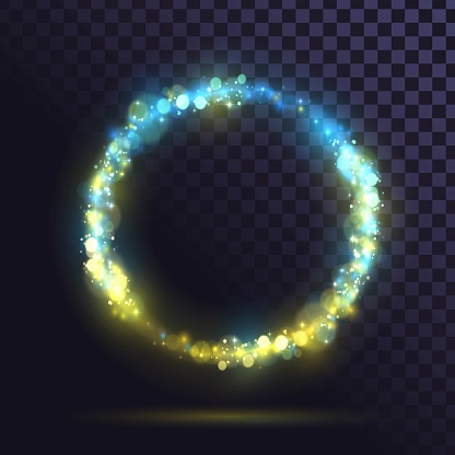 Magic light effect 2