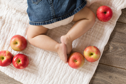 Baby Legs and Apples