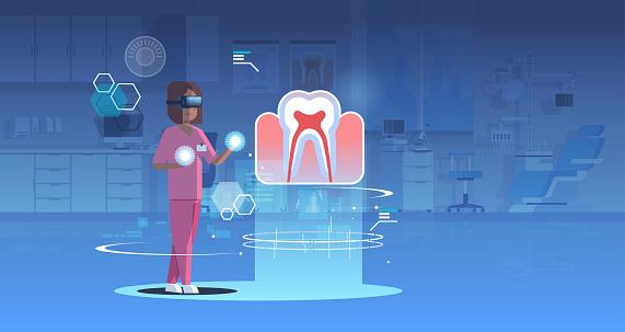 Medical VR concept illustration