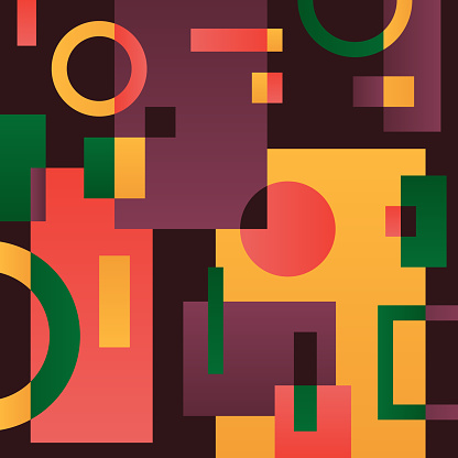 Abstract geometric objects